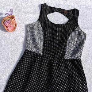 The Limited Black and White Polkadot Dress Size 8